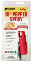 red Mace hard case pepper spray