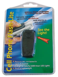 cell phone flash-lite (black)