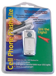 cell phone flash-lite (silver)